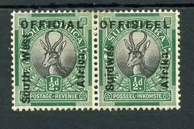 South West Africa 1927 Official ½d SGO1 fine MM cat £100