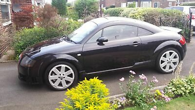 2004 Audi TT Quattro 3.2 v6 DSG - Black with Red Leather