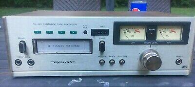 Realistic TR-883 Cartridge Tape Recorder from Late 70s, Pre-owned. Tested works