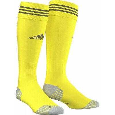 Adidas Adisock 12 Size L (8.5-10) Mens Yellow Football Socks Soccer Training 4