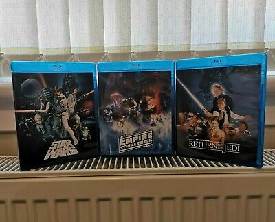 Original Star Wars Deluxe Despecialized 6 Disc Set On Blu Ray. ONLY £26.95.