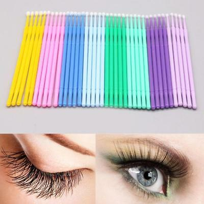 Fashion Micro Brush Disposable Microbrush Applicators Eyelash Extensions Swab