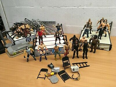 Wwe Wrestling Figure Mattel Bundle Wrestling Ring You Choose