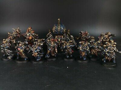 warhammer Chaos night lords army space marines Pro painted made to order
