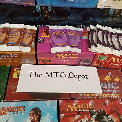 *New Inventory and Bonuses* Magic the Gathering Booster Pack Bundles Lot MTG Fun