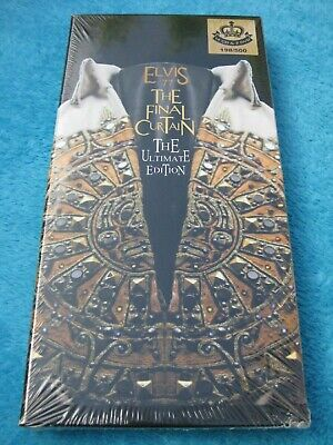 Elvis PRESLEY - THE FINAL CURTAIN - the ultimate edition LTD 500 RARE
