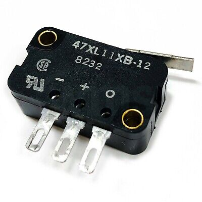 Micro Switch 47XL11XB-12 Snap Action Switch, SPDT