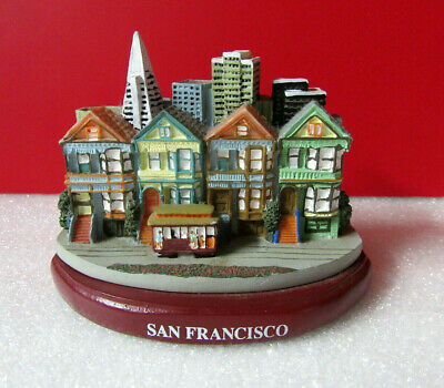 San Francisco Residential Downtown City Souvenir Figurine