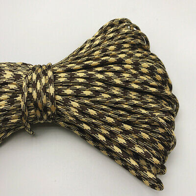 550 Paracord Parachute Cord Lanyard Mil Spec Type III 7 Strand Core 25FT HOT16