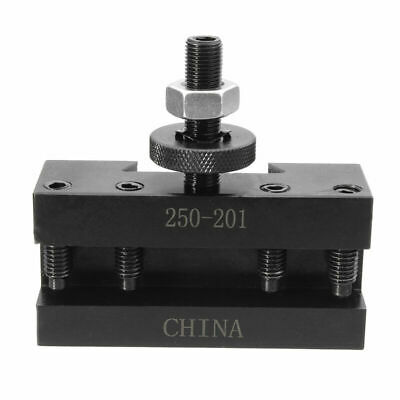 CNC Facing Tool Holder Black Steel 80*75*25mm Quick change Accessory 1pc