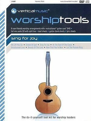 Vertical Music Worship Tools - Sing For Joy(CD/DVD, Like New, Integrity Music)