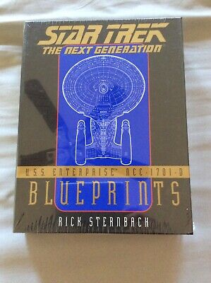 STAR TREK The Next Generation U.S.S. Enterprise NCC 1701 D Blueprints SEALEDCOPY