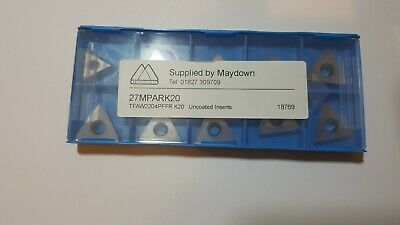 New Maydown Carbide Indexable Milling Inserts  Tips Aluminium Cnc Manufacture