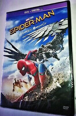 Dvd Spider-Man : Homecoming (2017) Marvel Michael Keaton Robert Downey Jr. Neuf