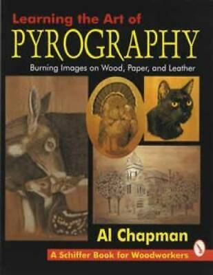 Learning the Art of Pyrography book Woodburning How-to