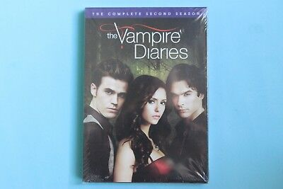 The Vampire Diaries: The Complete Second Season (DVD, 2012, Canadian French) NEW