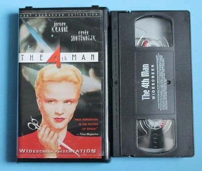 The 4Th Man Vhs Tape Clam Shell