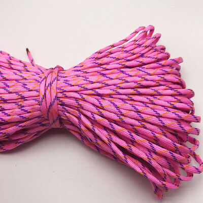 550 Paracord Parachute Cord Lanyard Mil Spec Type III 7 Strand Core 25FT HOT08