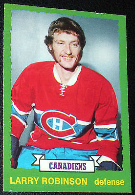 Larry Robinson Rookie Card - lot of 40 incl. 1 O-Pee-Chee for ea. year  played!