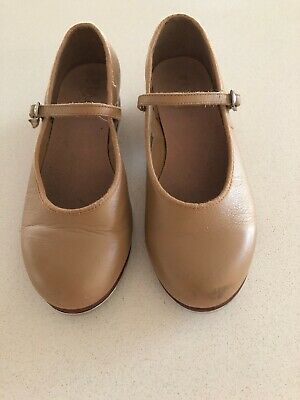 Bloch Tap Shoes - Tan Girls Size 5 1/2