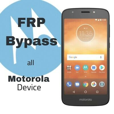 MOTOROLA FRP GOOGLE Account Removal Remote Service - $6 00