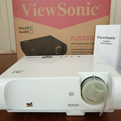 Viewsonic PJ503D DLP Multifunction Projector As New