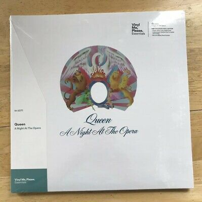 Queen - A Night at the Opera - Vinyl Me Please Galaxy Colored + Print New Sealed