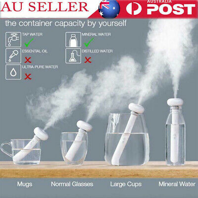 Portable Ultrasonic Aroma Humidifier Air Diffuser Atomizer Fogger Mist Purifier