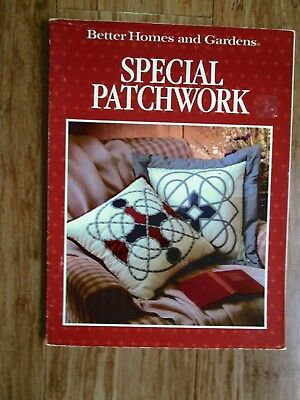 Better Homes & Gardens Book Of Special Patchwork