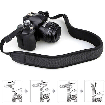 Adjustable Decompression Universal Single SLR Camera Strap Shoulder Neck Belt
