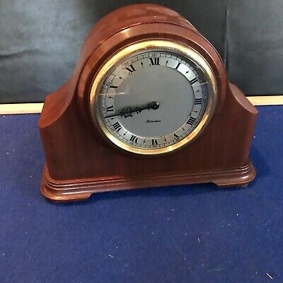 Rotherham Of Coventry  mahogany cased mantle clock