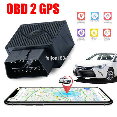 OBD2 GPS Tracker Real Time Auto Vehicle Tracking Device OBD II For Car Locating
