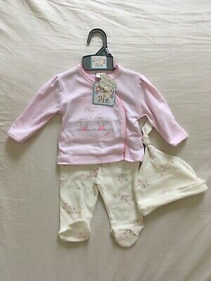 GORGEOBaby Girl outfit suit Cutey Couture JACKET DENIM PANTS T SHIRT PINK WHITE