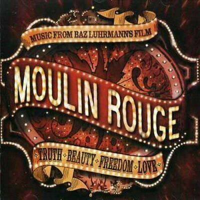 Original Soundtrack / Moulin Rouge Music CD FREE UK P&P