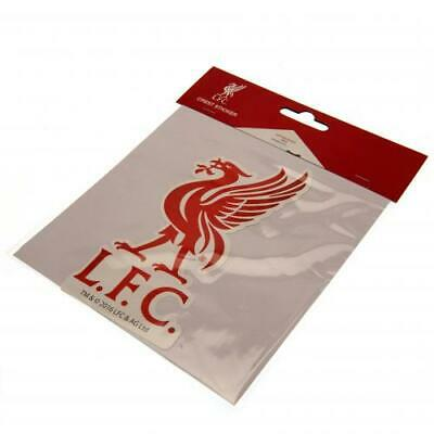 Liverpool FC Large Sticker 18 X 9 cm Use on Laptop Shiny Surface Wall Xmas Gift
