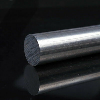 Aluminum Round Rod D30mm - 75mm Length 100mm Solid Lathe Bar Cutting Stock Met