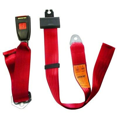 Seat Belt - Static Lap - Red SECURON 210RED