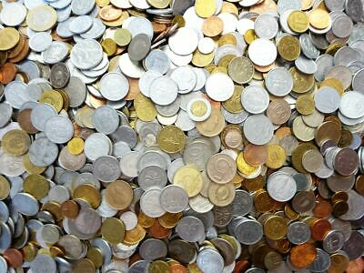 Lot of 100 world coins wholesale from different countries circulated
