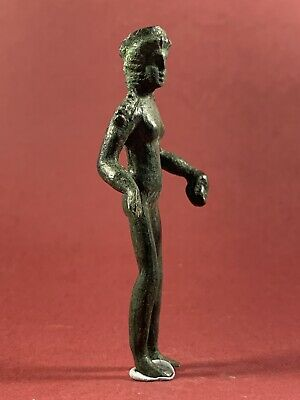 Rare Scarce Ancient Roman Bronze Statuette Of The Goddess Venus Circa 200-300Ad