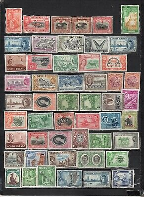 British Colonies - GB  collections  Lot Of Early Unused Stamps (GBL4)