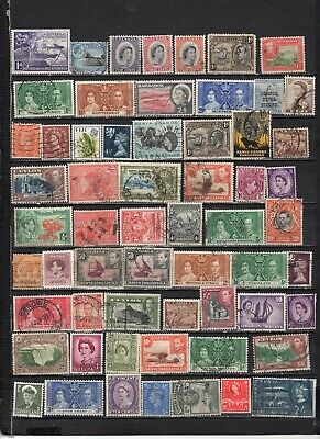 British Colonies - GB  collections  Lot Of Early Used Stamps (GBL3)