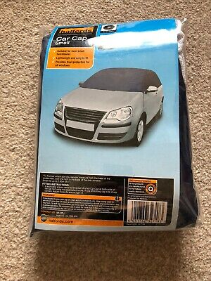 Classic Additions Waterproof Outdoor Half Car Cover (Small)