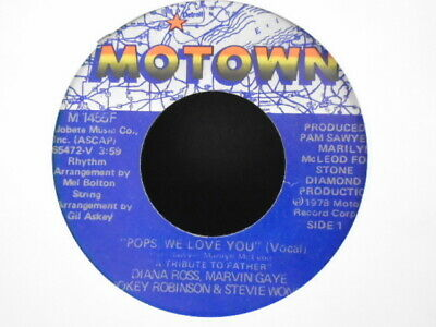 "Various Motown Artists "" Pops We Love You "" Usa  Motown  Ex+ Cond."