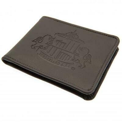 Sunderland FC A.F.C PU Leather Money Wallet With Embossed Club Crest New Gift