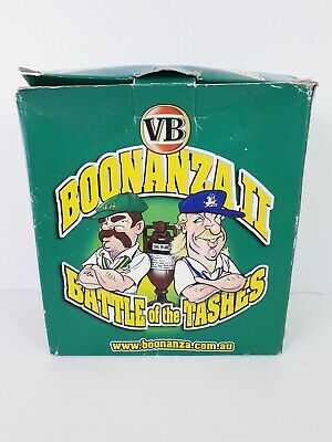 Battle Of The Tashes Talking Figures RARE Collectable VB Boonanza II Boony Beefy