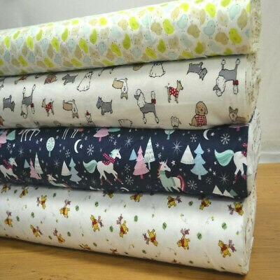 Printed Wincyette Flannel Brushed 100% Cotton Fabric 150cm wide