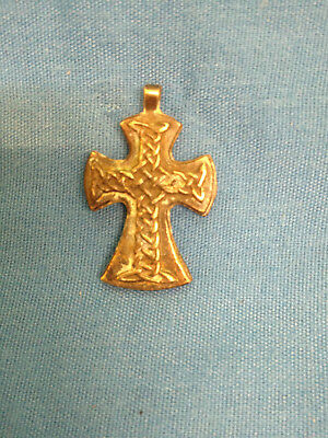 Religion. Russian Icon. Antique Cross. Pendant. Christianity. Bronze. (1)