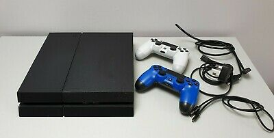 Sony PlayStation 4 PS4 console 500GB black + 2 x DualShock controllers