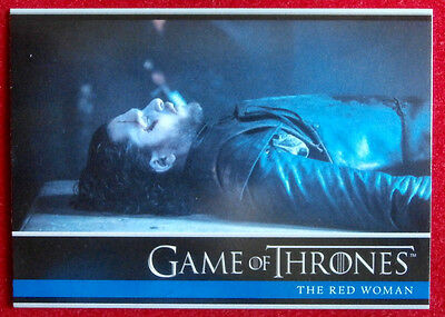 GAME OF THRONES - Season 6 - Card #01 - THE RED WOMAN - Rittenhouse 2017