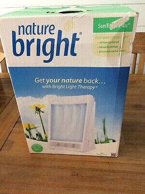 Nature Bright Sun TouchPlus 10,000 LUX Bright Light  New
